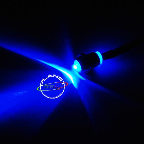 Faretto incasso punto luce mini led blu effetto cielo for Luce led blu