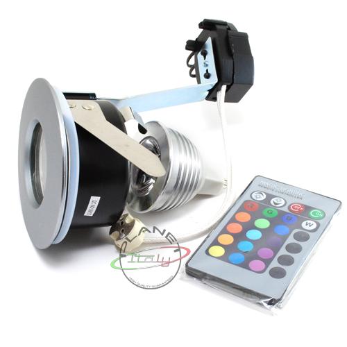 Faretto da incasso LED RGB per doccia bagno turco wc luce ...