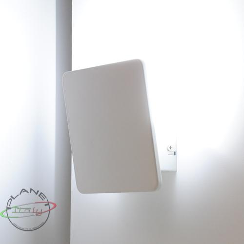 Applique parete lampada led 12w luce bianco freddo 230v for Applique da parete moderni