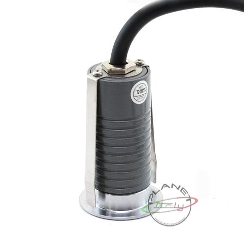 10 Faretti x esterno calpestabile luce calda ip67 12v led 1w + trasformatore led  eBay
