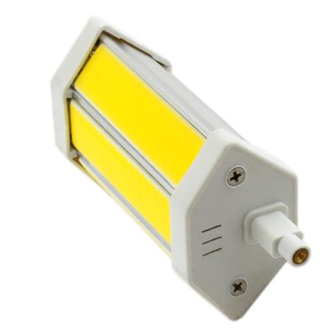 lampadina lineare : Dettagli su Lampada led lineare r7s 118mm 10w resa 150w luce neutra