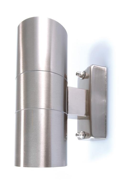 Faretto applique led uso esterno illuminazione parete muro 6w spot luce calda  eBay