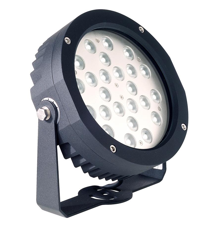 Faretti Per Illuminazione Alberi.Faro Proiettore Luce Led Per Uso Esterno Ip65 24w Luce Calda 24 Led 230v Luce Per Alberi Facciate Grandi Piante