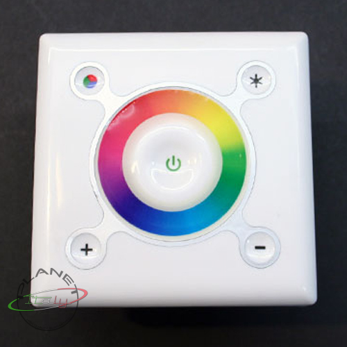 controller control unit dimmer led rgb recessed wall wall touch strip led rgb ebay. Black Bedroom Furniture Sets. Home Design Ideas