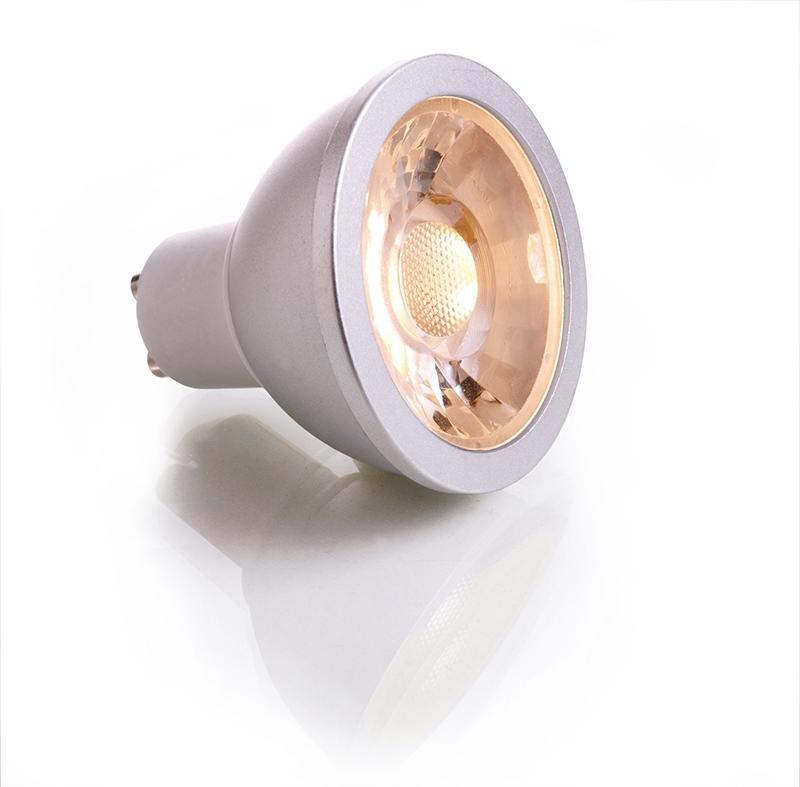 Lampada Led Faretto Gu10.Lampada Led Gu10 Dimmable 6w Luce Calda Faretto Spot 40 Gradi Cob Led Chips 230v