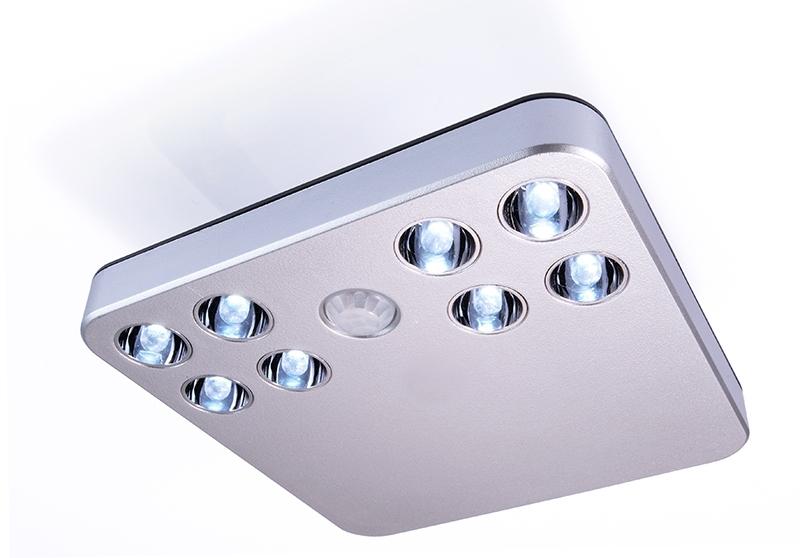 Plafoniere Con Sensore Di Movimento : Lampade led da esterno con sensore: faretto solare