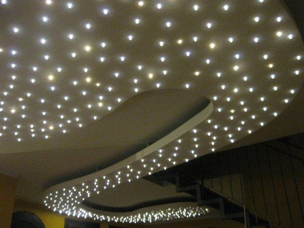 Plafoniera Led Cielo Stellato : Faretto led a incasso cielo stellato prova sito