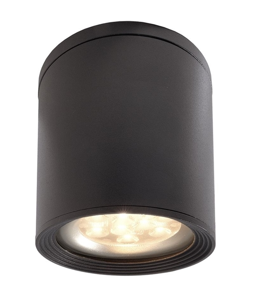Faretti Esterni Soffitto.Lampada Da Esterno Plafoniera Applique Led E27 Parete Soffitto Ip54