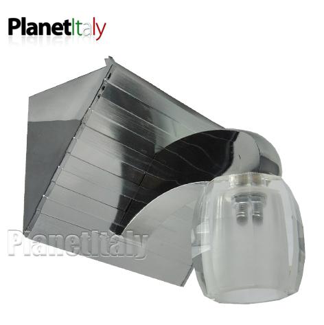 Lampada LED parete applique led 2w g4 light wall arredo ...