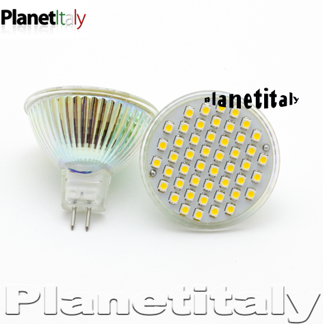 Brasile lampada led gu5 3 12v 2 generazione for Faretto led 12v