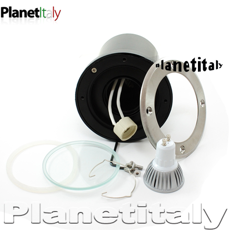 Artemide faretto led incasso terreno planetitaly for Lampada per faretto a led