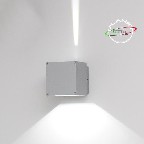 Lampada applique parete muro per esterni led 10w doppio fascio luce ...