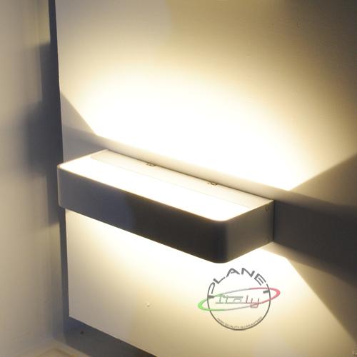 Prometeo applique led planetitaly applique moderno - Applique da parete design ...