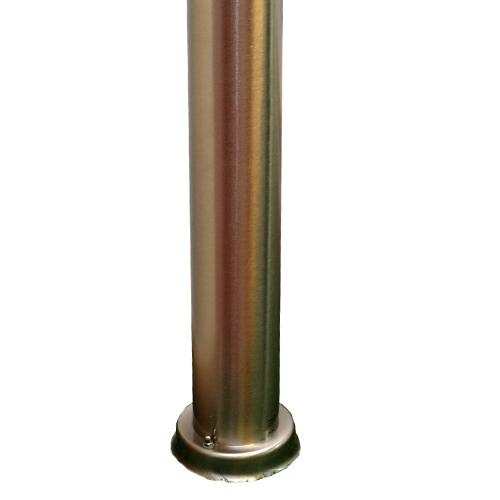 Lampione a palo lampioni da giardino E27 110cm 220v uso esterno arredo