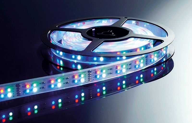President01 ip65 planetitaly striscia strip led - Luci a batteria per esterni ...