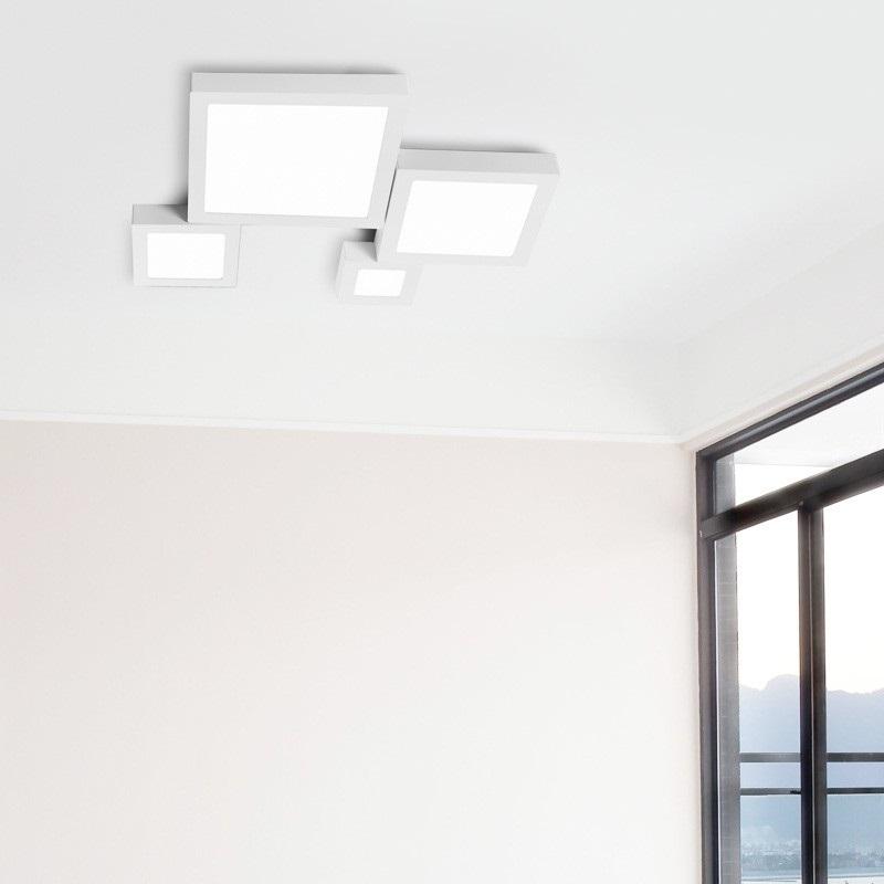 slk01 - Plafoniere led a soffitto - planetitaly - Lampada a soffitto con luce diffusa per uso ...