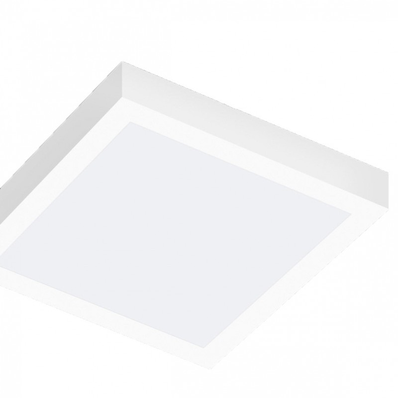 plafoniera led a soffitto 12w 60 led potenza 130w luce bianco freddo 6000k 230v