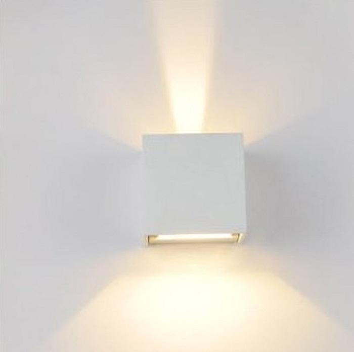 Lampade Per Esterno A Parete.Lampada Da Parete Regolabile Alluminio X Esterno Interno Ip65 Colore Bianco Led 4000k
