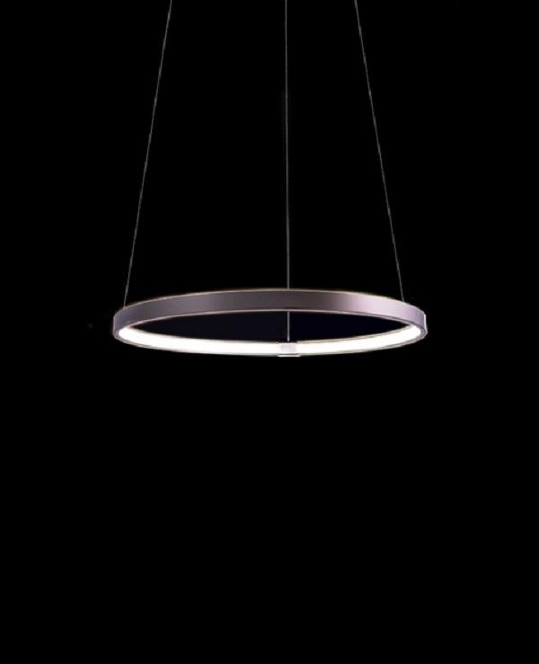 elaro400   Lampadario   planetitaly   Lampadario, led, pendente, circolare, 15w, luce, diffusa     -> Lampadario Sospensione Luce Led
