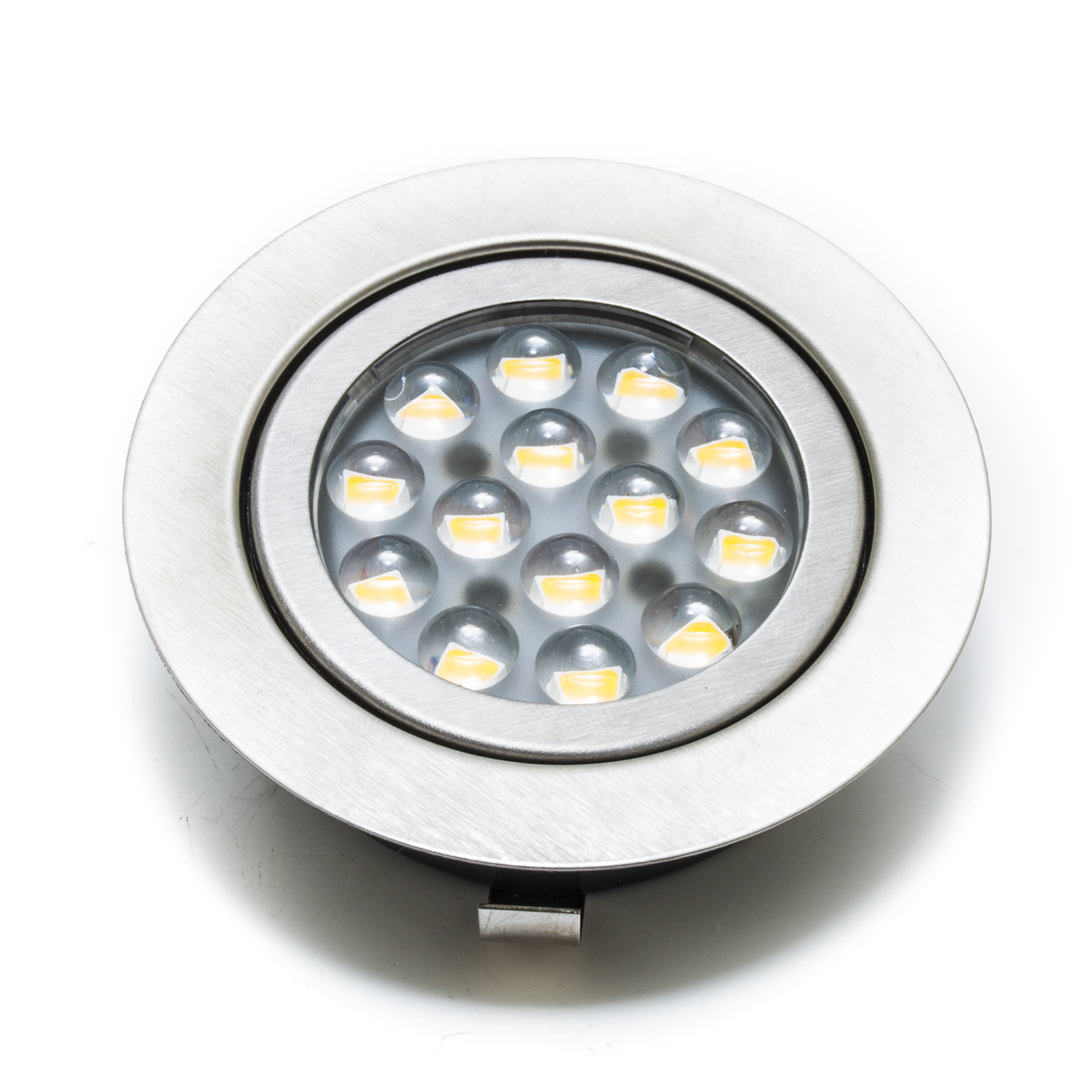 Norman faretto led incasso foro 6cm planetitaly for Faretti a led incasso