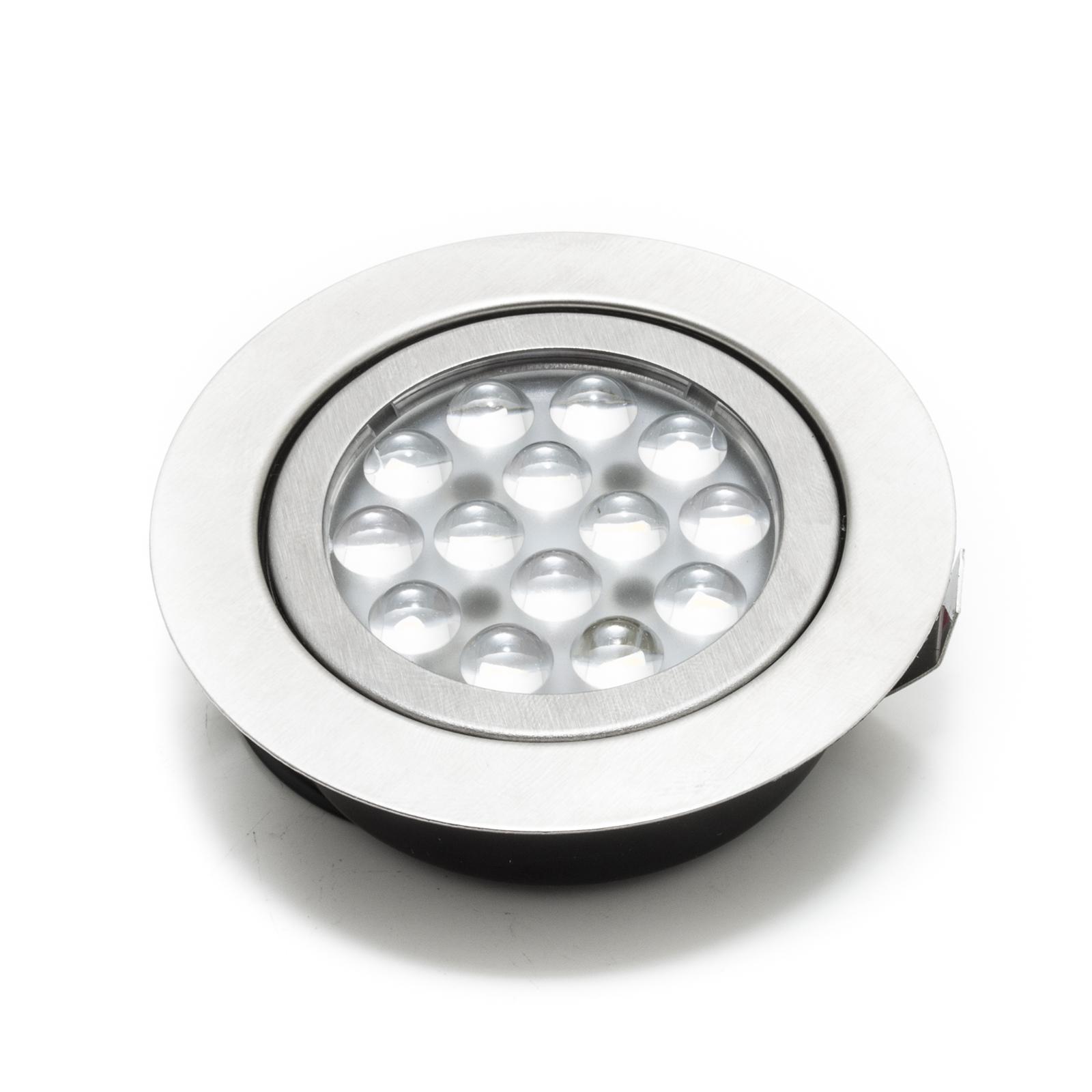 Luce Bianco caldo Faretto led incasso 3w slim luce cappa cucina mensole 220v sostituzione alogena
