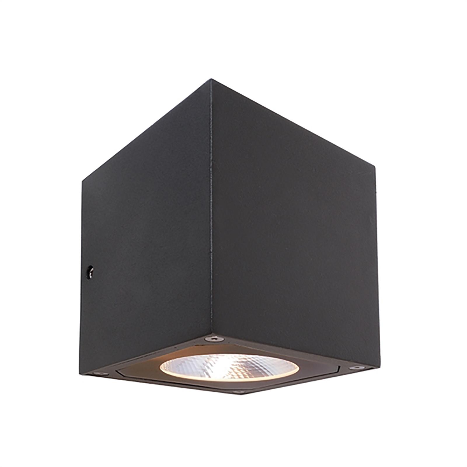 Lampada Muro Lampada Esterno Alluminio Antracite Up//Down LED Lampada Muro Esterno