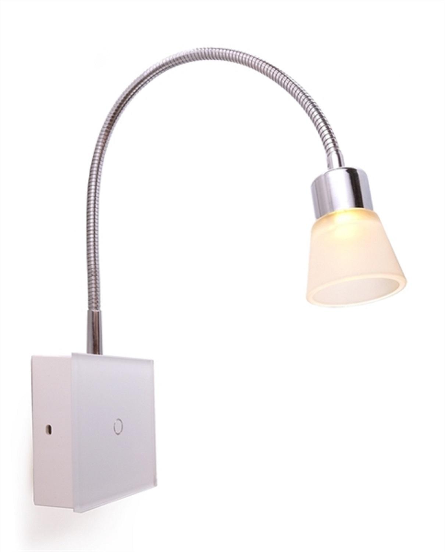 Raze3 lampada led da lettura planetitaly faretto - Applique con interruttore ...