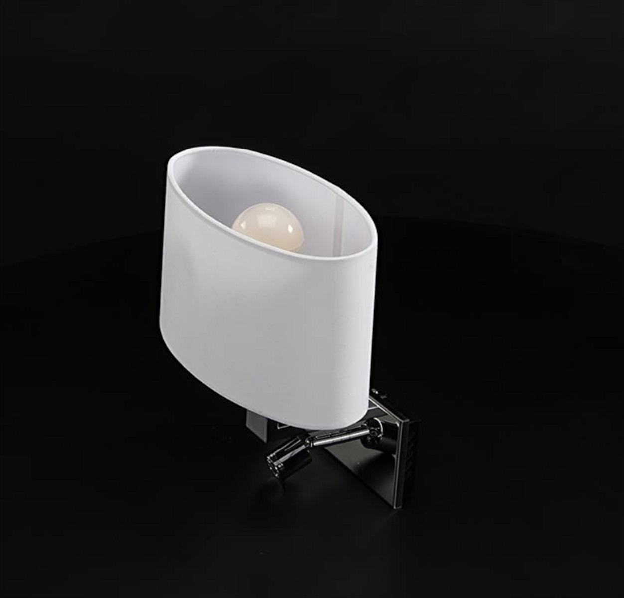 roberta - lampada led da lettura - planetitaly - lampada con luce ... - Applique Per Camera Da Letto