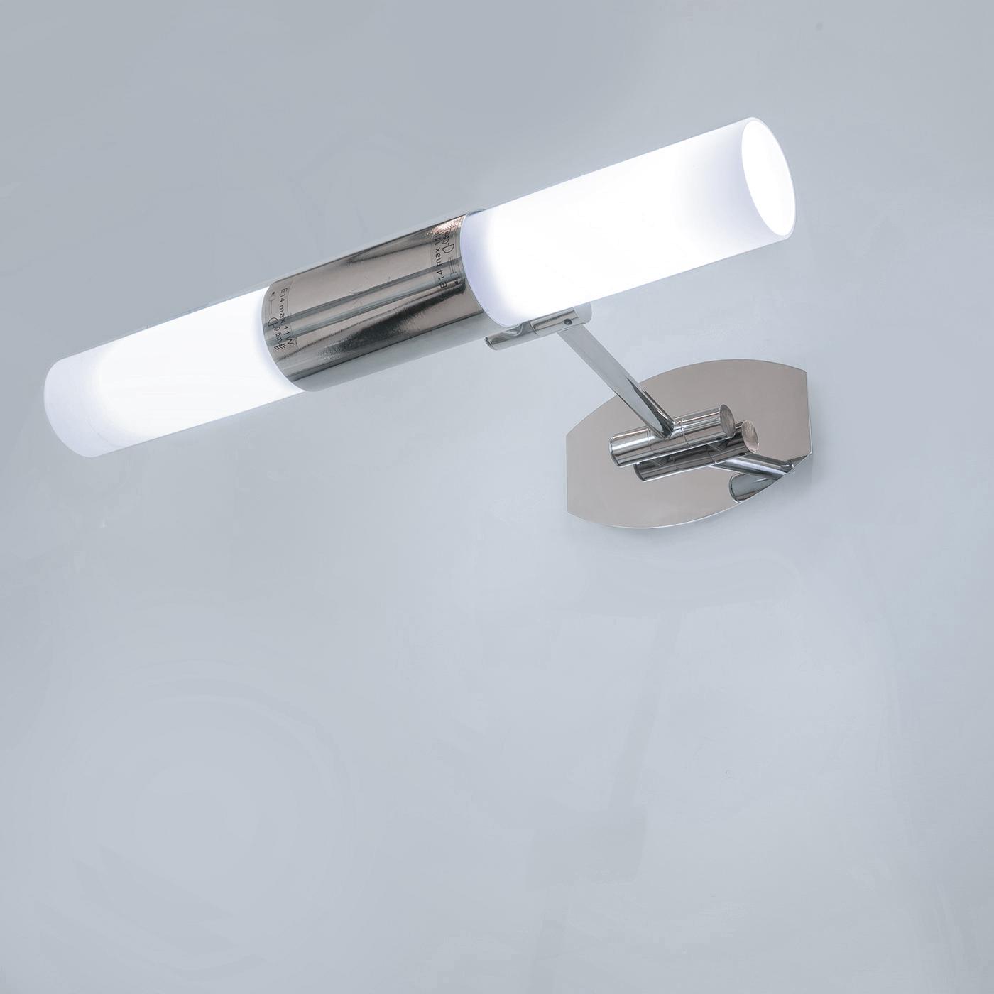 Fedez arredo bagno planetitaly lampada da parete con - Luce per bagno ...
