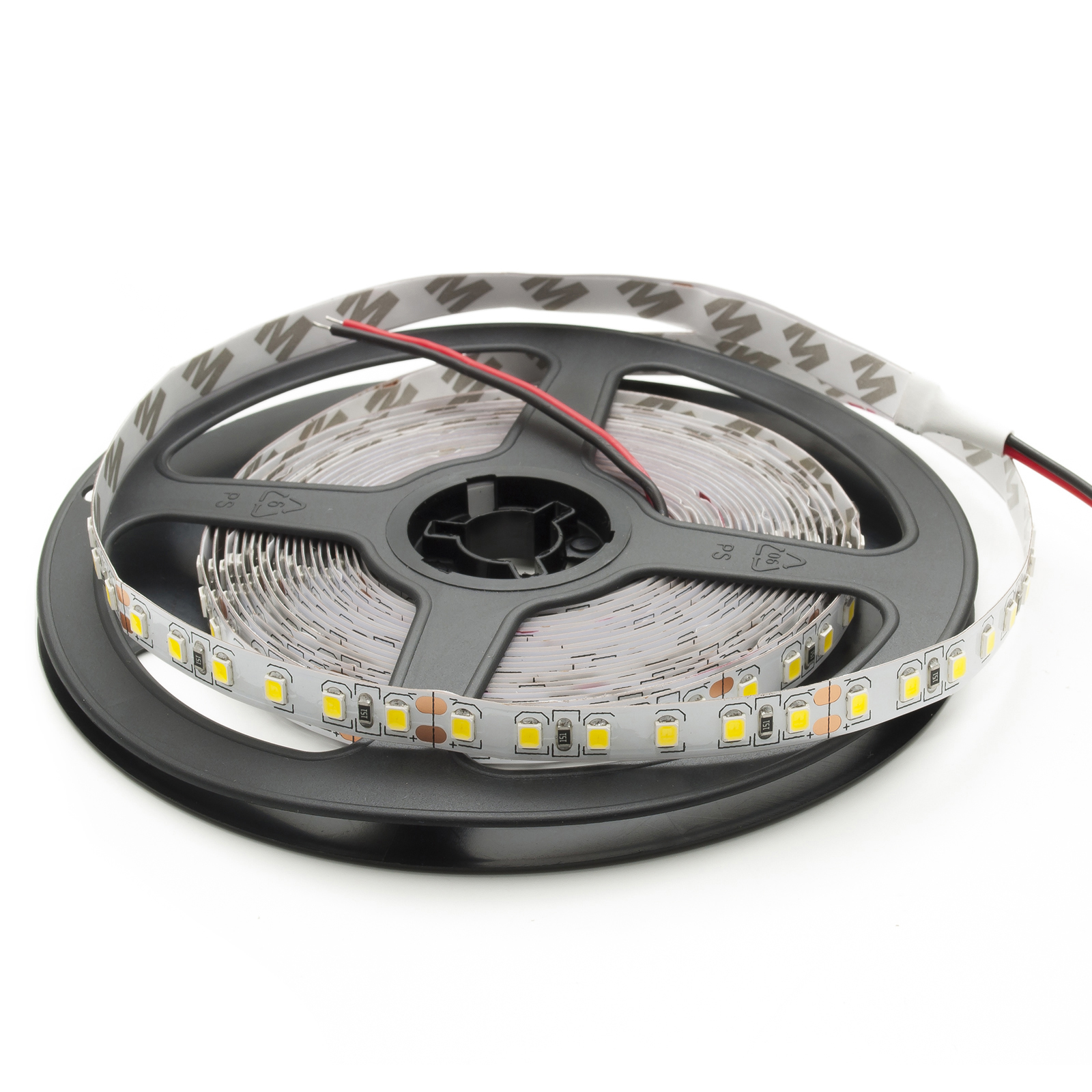 Striscia led 5 metri 12v strip 600 led SMD 2835 IP20 flessibile alta luminosita