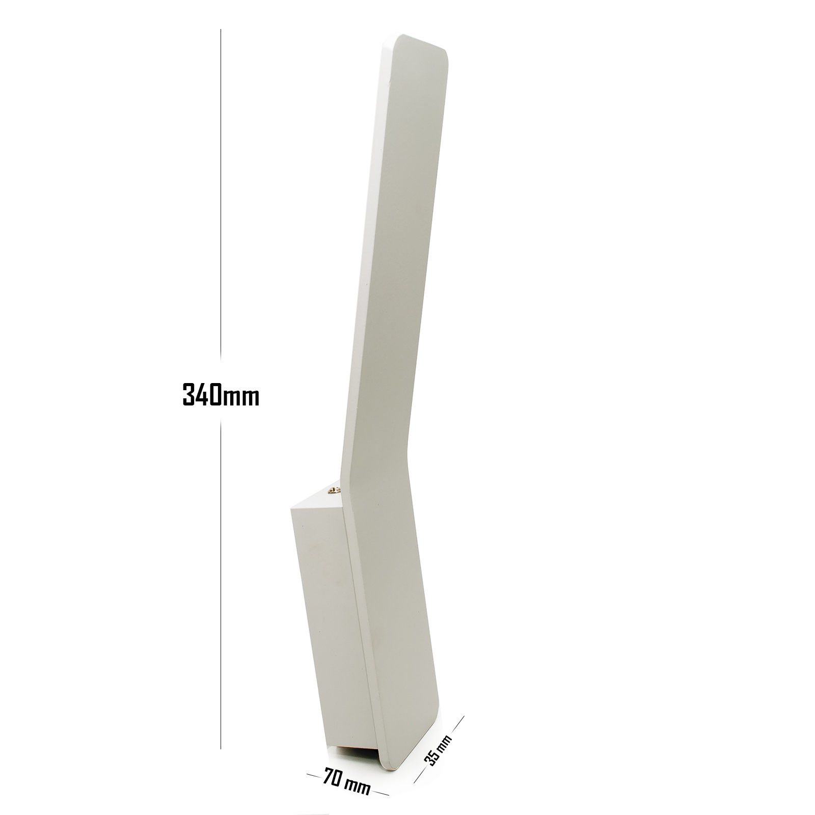 Applique led modern white 10W wall slim metal lamp built-in led 1100lm