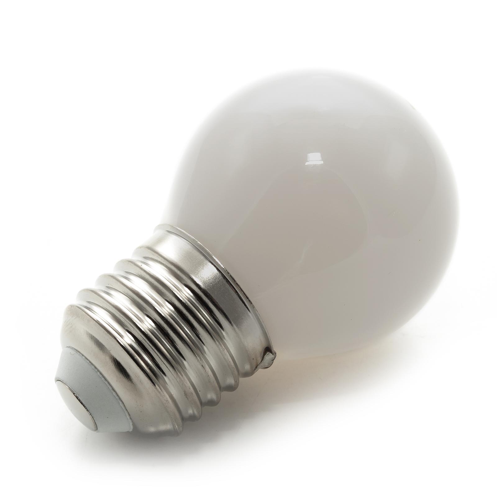 Lampadine Led E27 Luce Calda.Lampadina Led Mini Globo E27 Vetro Luce 360 Gradi 4w 400 Lumen 230v Luce Calda