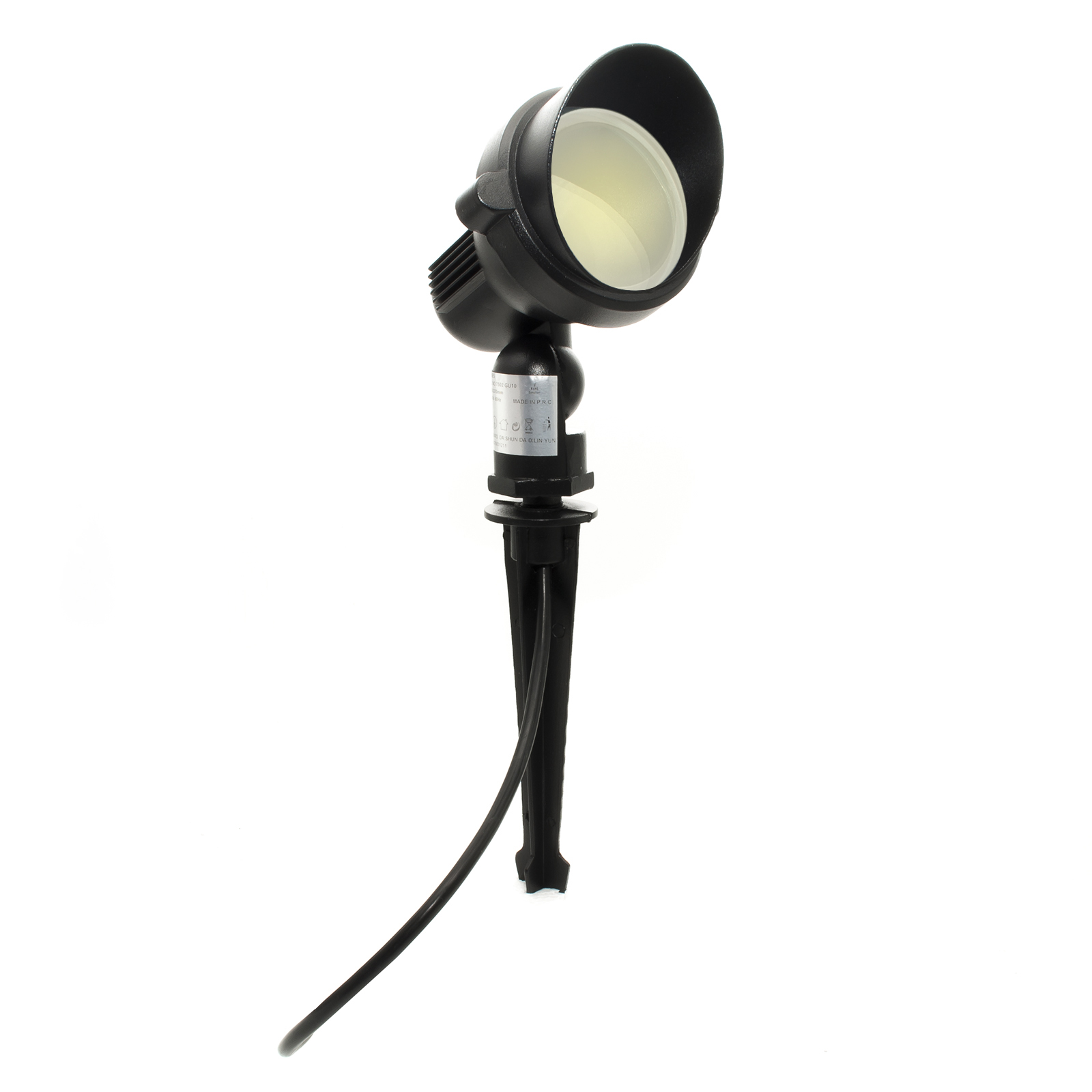 Spotlight spot external 8W tiltable picket gu10 220V IP65 segnapassi