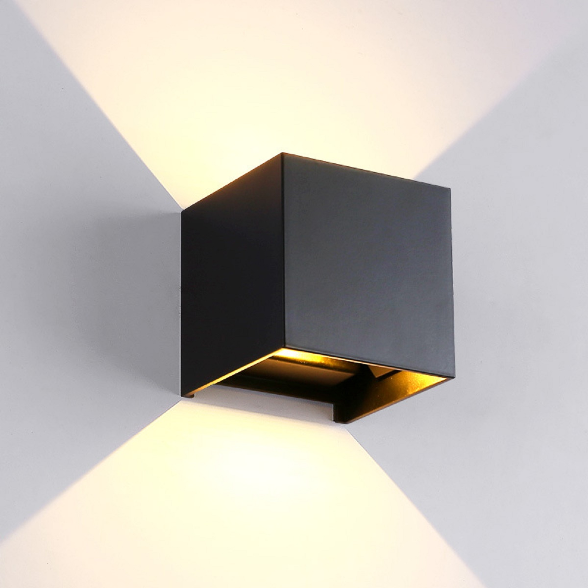 Cono Luce Faretti Led applique lampade led da esterno a parete - - lampada led da