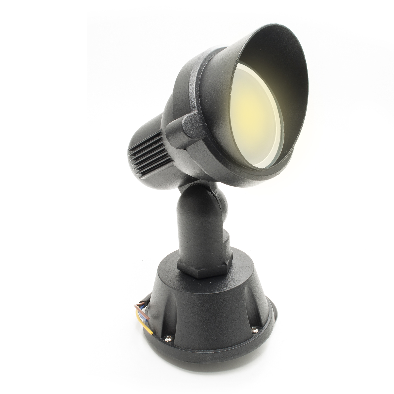 Led floodlight spotlight 8W adjustable aluminum bracket outdoor garden gu10 IP65