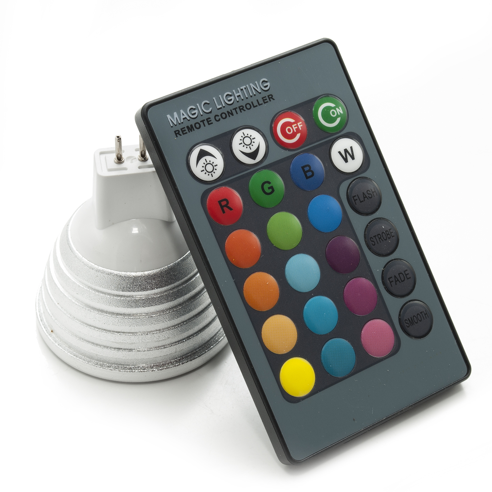 Luci Led Per Cromoterapia détails sur faretto led rgb cromoterapia lampada gu5.3 12v 16 colori di  luce rgb led light