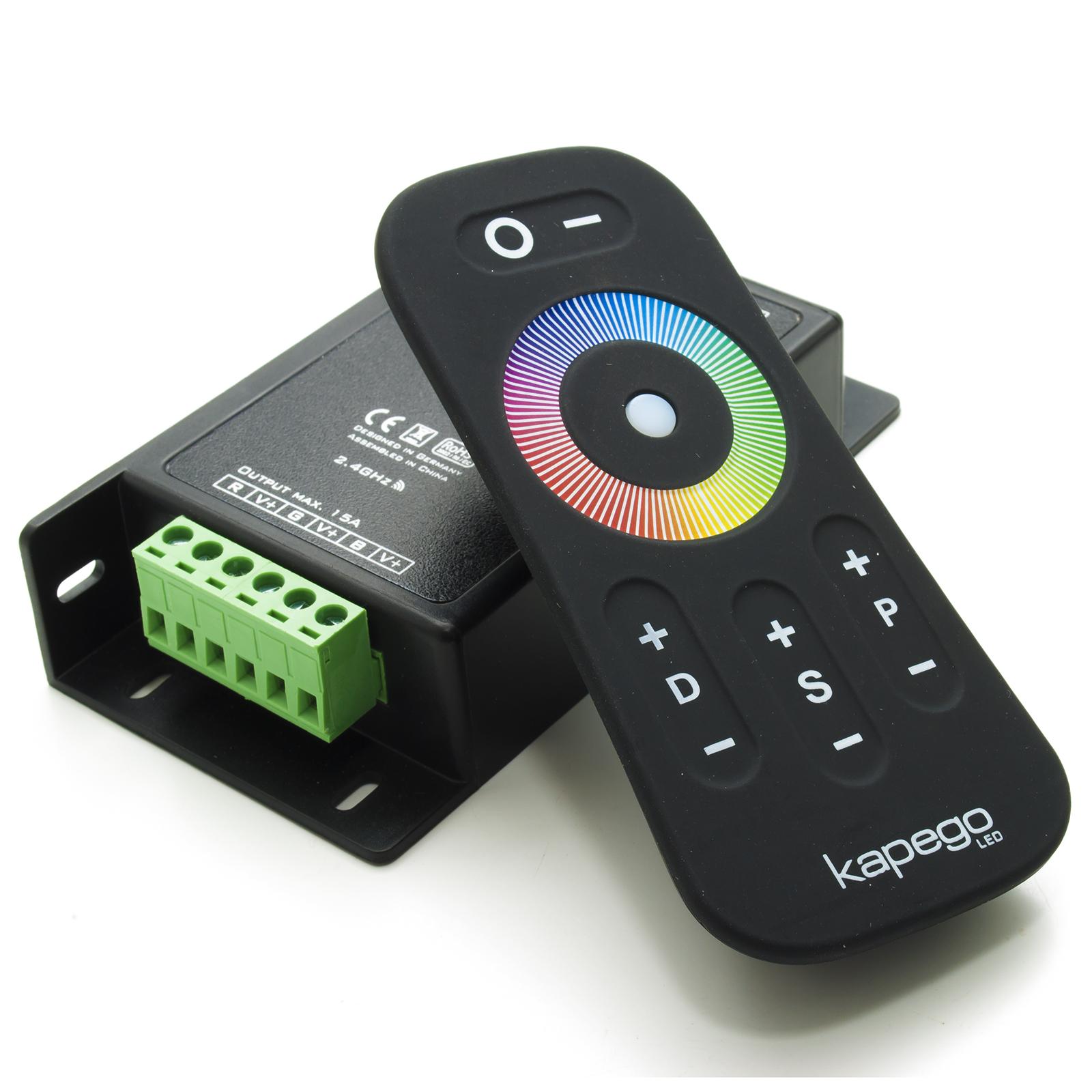 Accensione Lampadario Con Telecomando centralina controller rf 15a 3 canali per striscia led rgb faretto lampada  led wireless telecomando touch