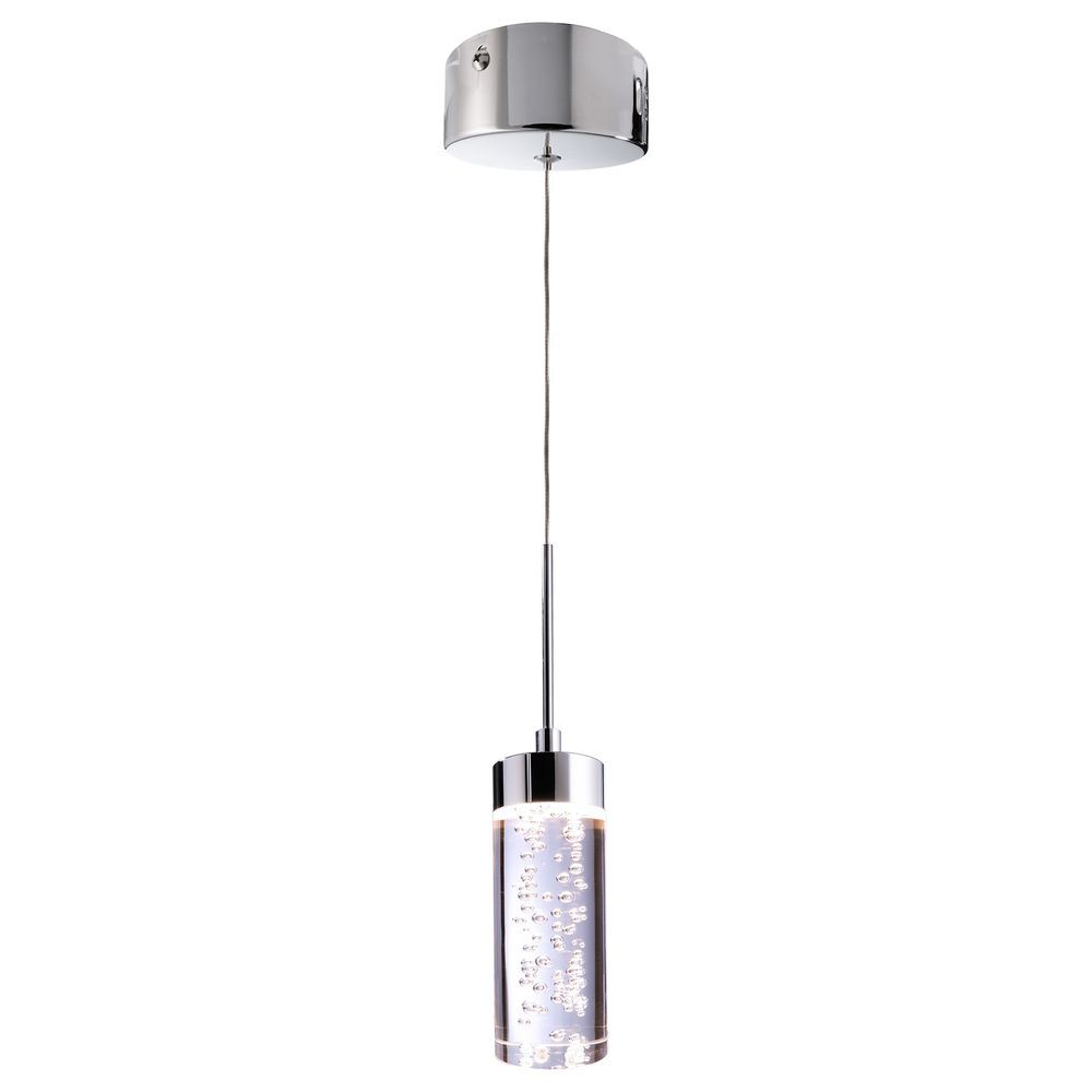 Lamp led pendant 6W SMD led pendant modern design glass bubbles 3000K