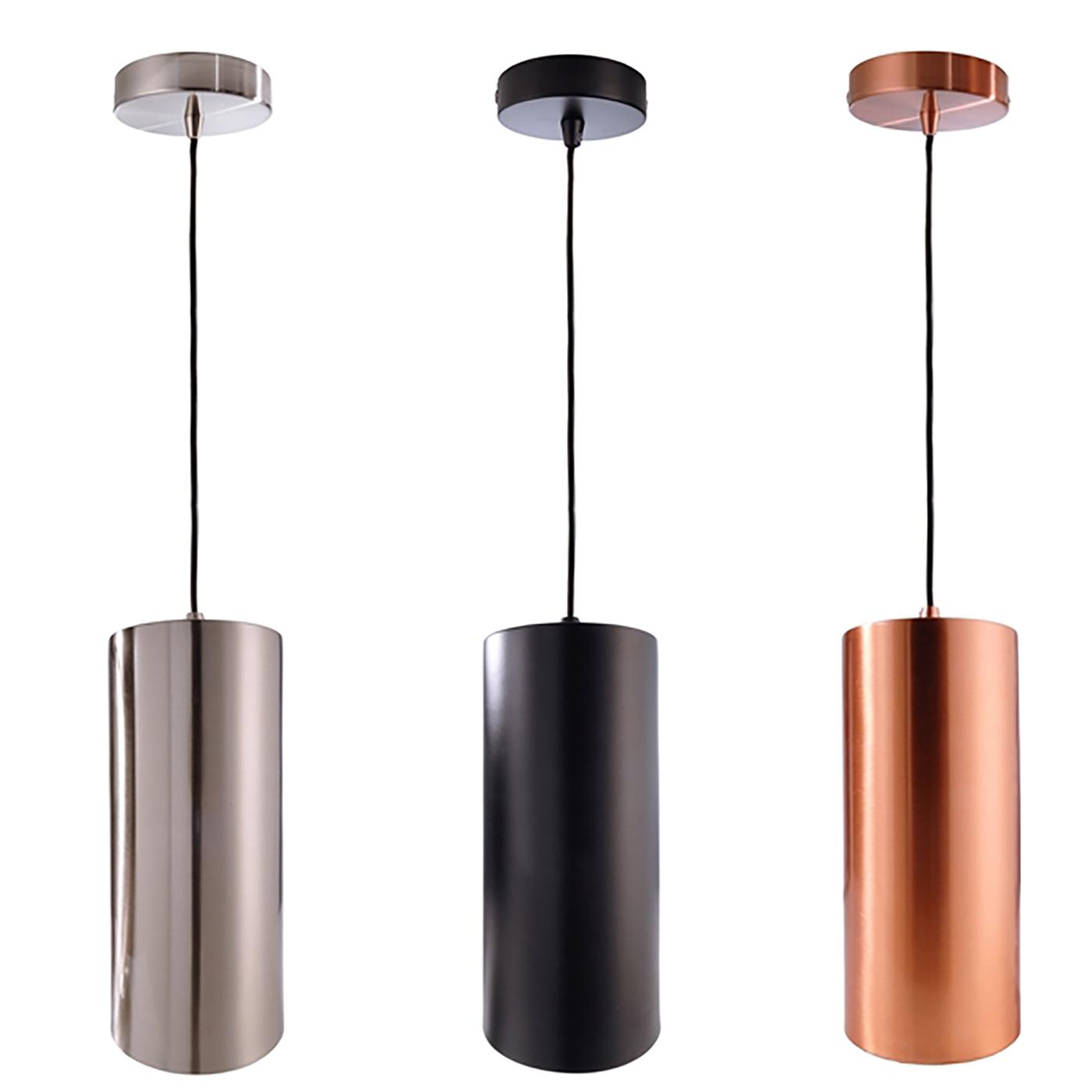 Lampade Sospensione A Grappolo lampadario pendente moderno cilindro sospensione lampada led