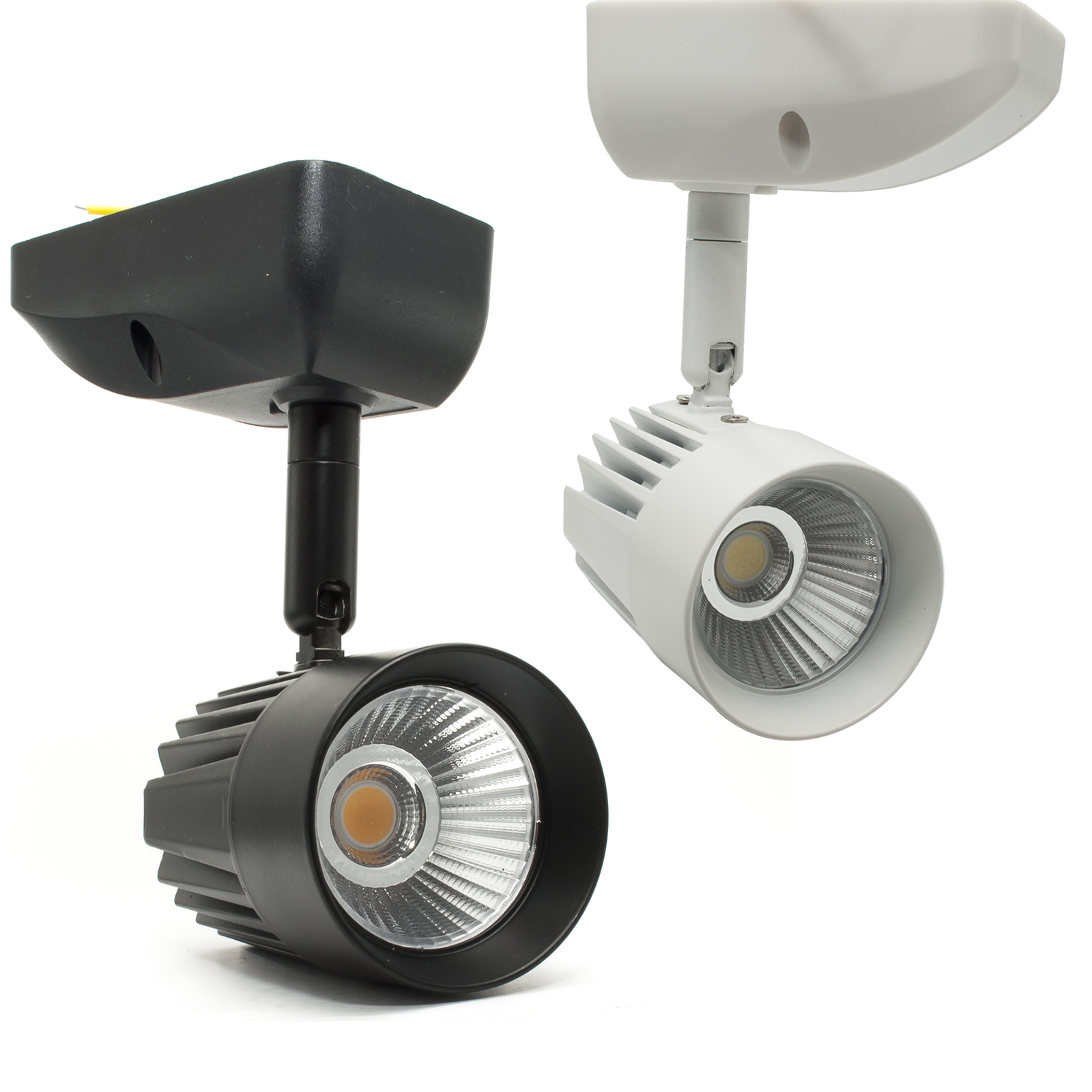 Spotlight LED COB 11W lamp ceiling wall wall directed light shop-windows, 230V
