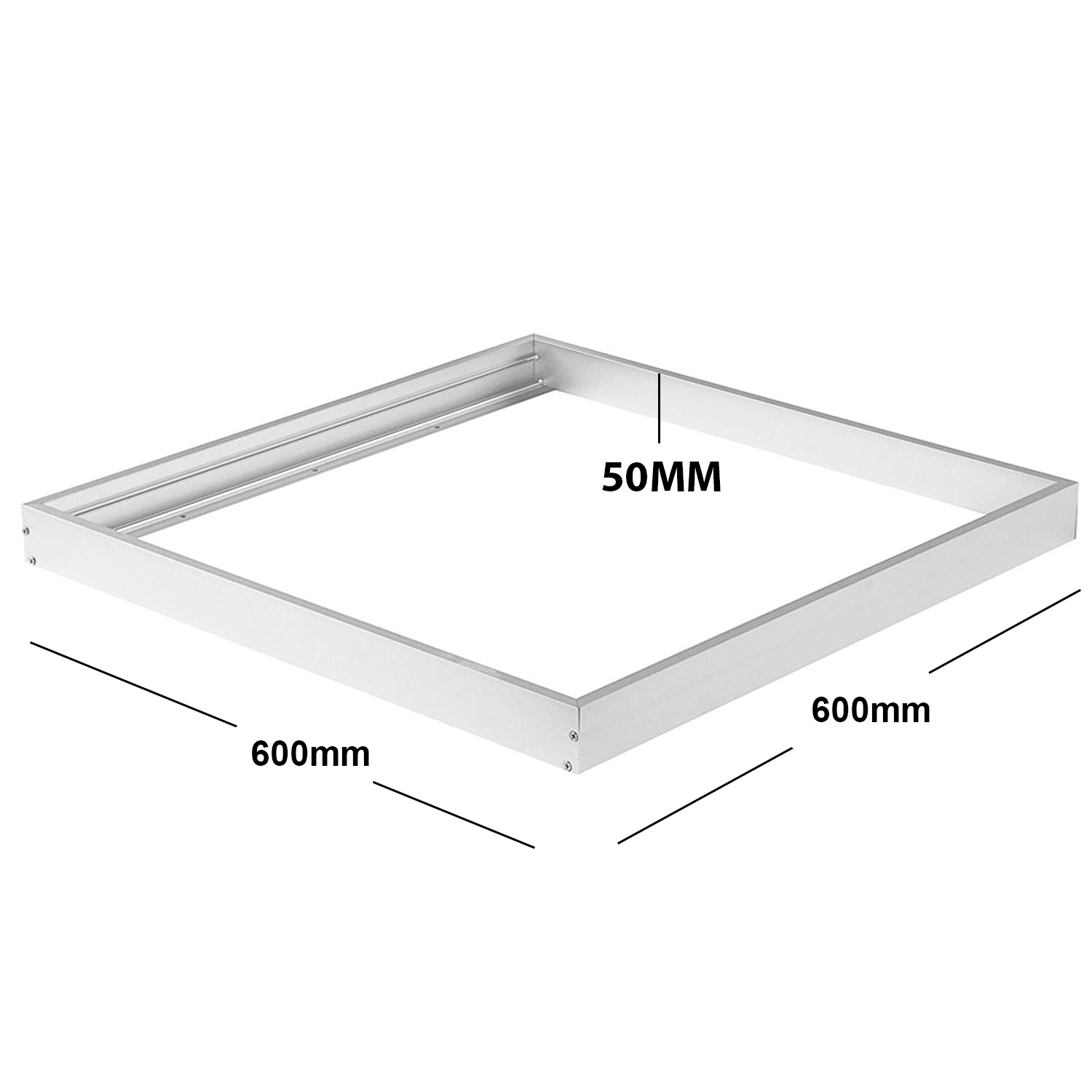 Ceiling light LED 48W recessed lamp light ceiling 60x60 cm 4500lm square 220V