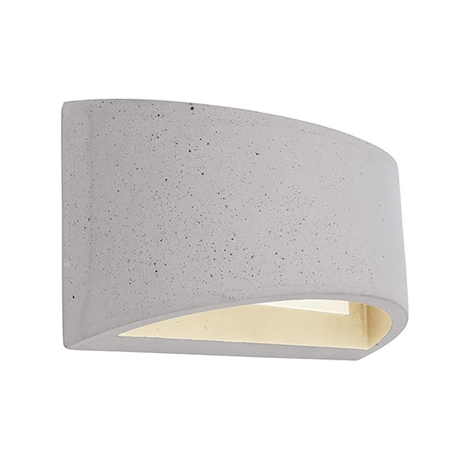 Applique LED stone cement wall-lamp double vertical light G9 220V IP20