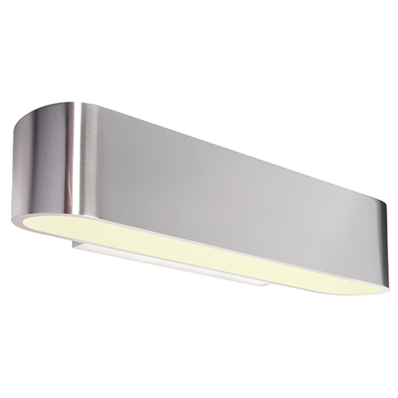 Applique slim LED aluminium chrome lamp double wall light R7S 118mm 220V