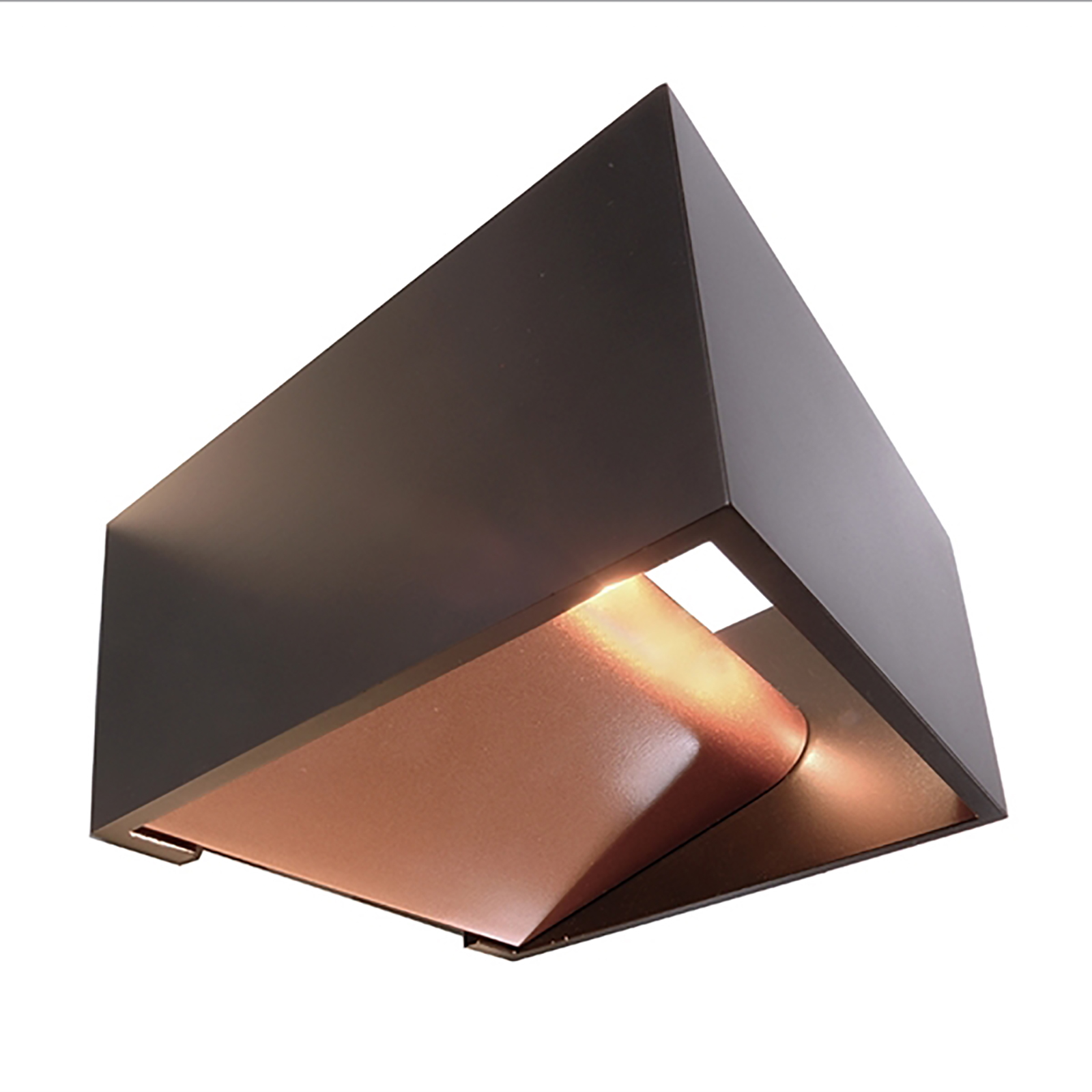 Applique wall 5W LED lamp square double vertical light 3000K 220V IP20
