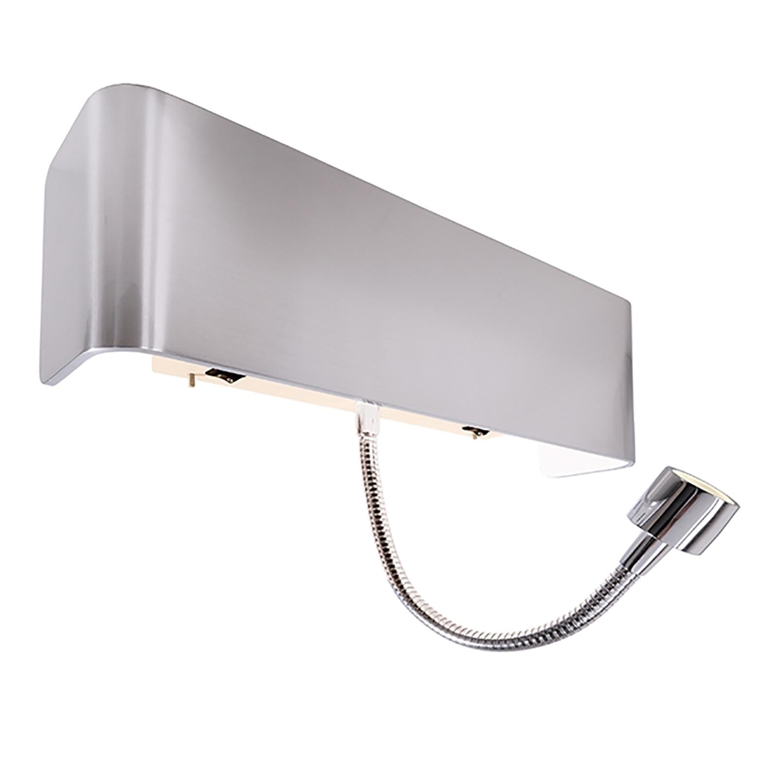 Lampade Da Parete Con Braccio lampada parete braccio snodabile - - applique led luce