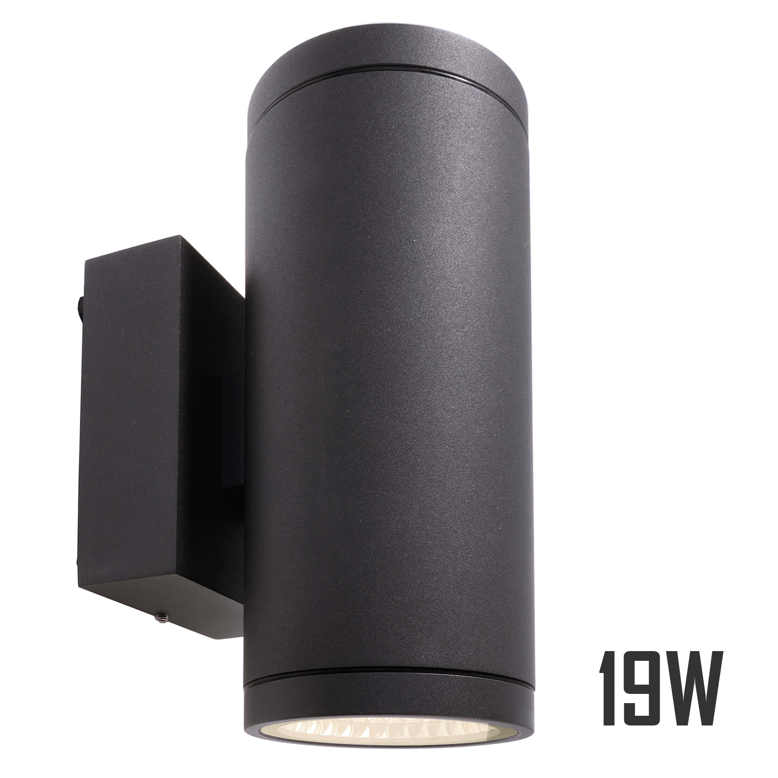 Lamp double LED 19W light wall applique garden outdoor 3000K 1620lm IP55
