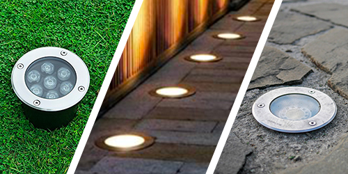 Ground built-in lamps