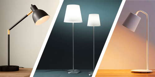 Table floor lamps