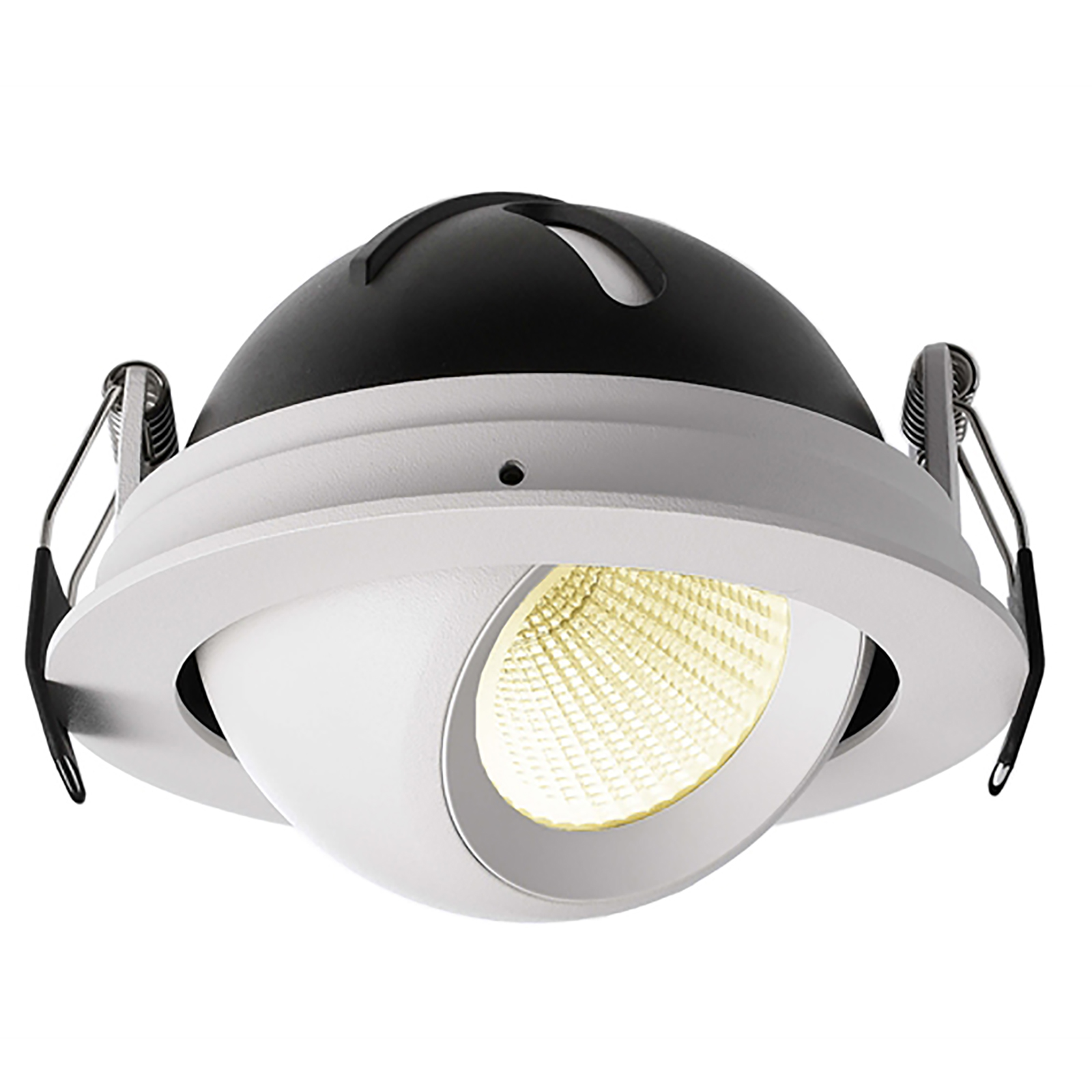 LED spotlight 9W recessed 10cm tilting adjustable spots dimmable showcase shop