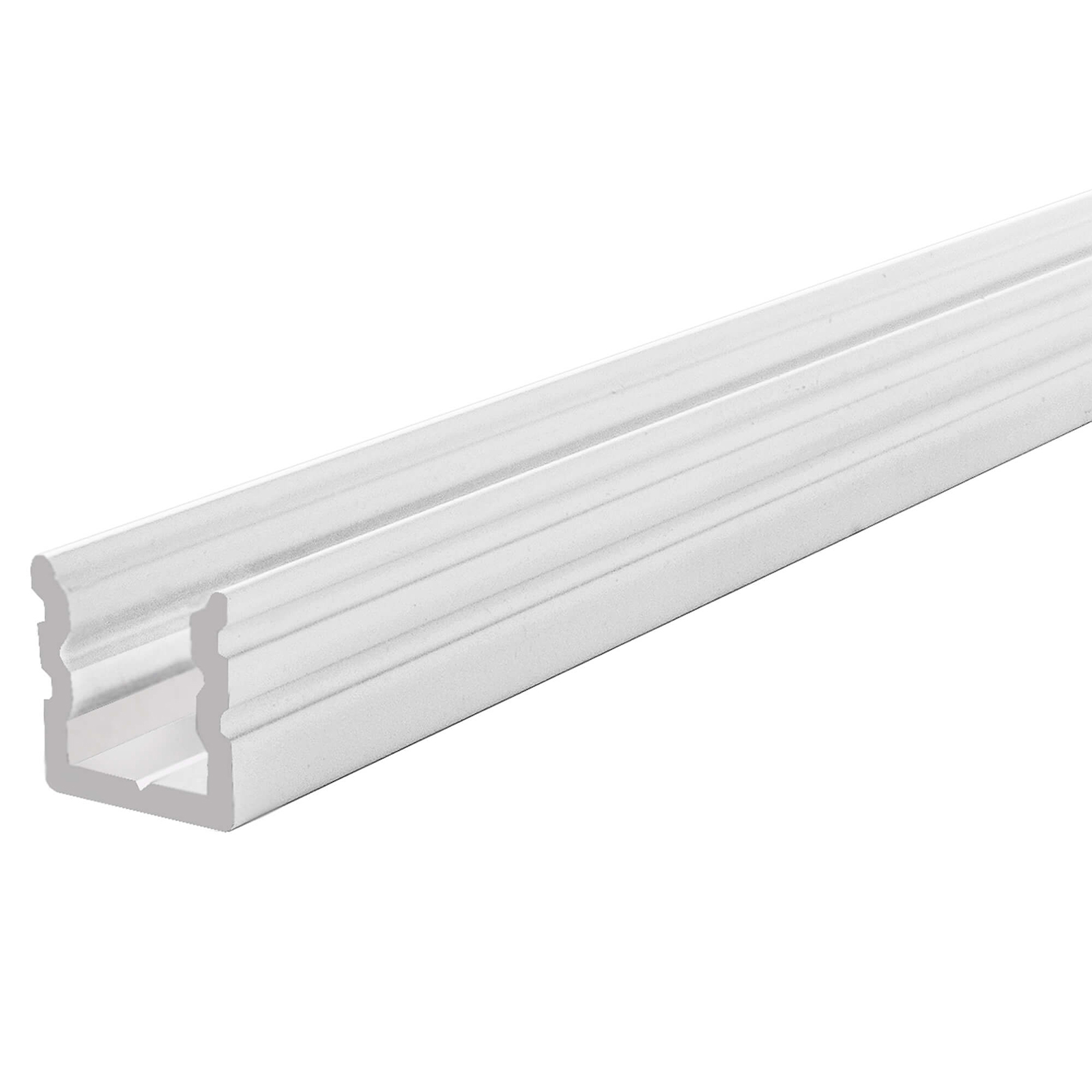 Profile bar, LED linear light, recessed, aluminum profile U-HIGH for strips and led strip